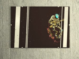 Picture of an astronaut 2