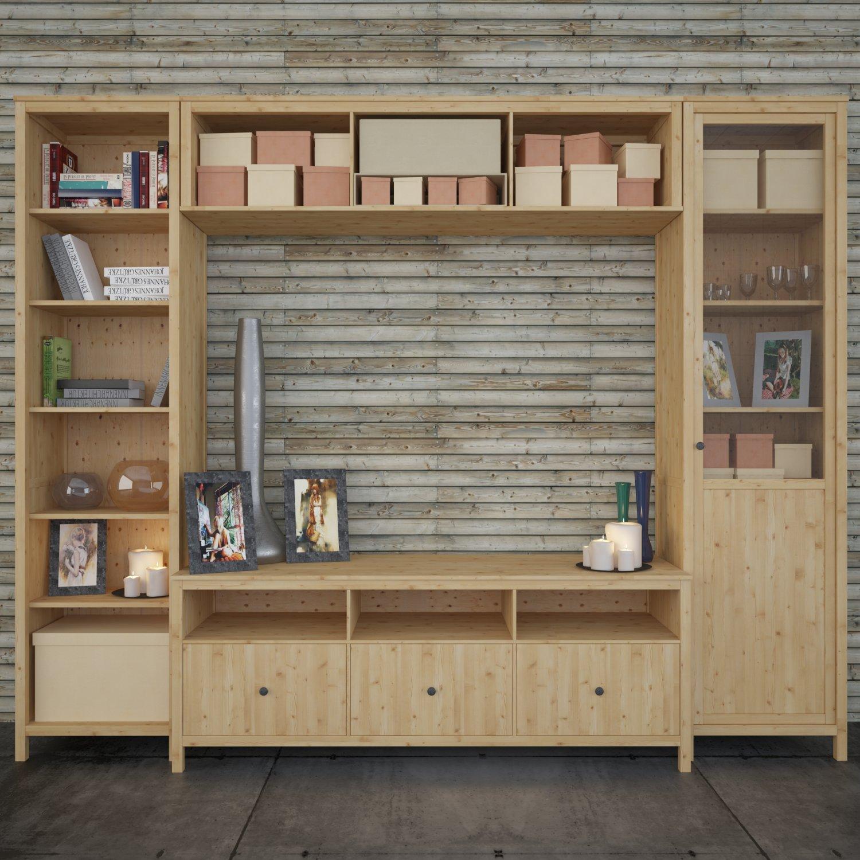Ikea Hemnes Tv Station Chest 3D Model