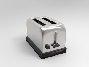 Toaster - Low Poly