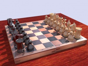 Classic Wooden Chess