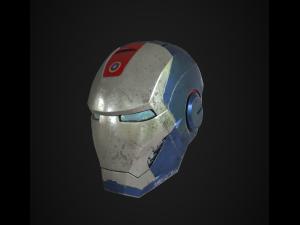 American Man Helmet