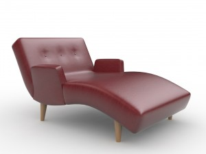 Olympic Tufted Chaise Lounge by Lazar Industries