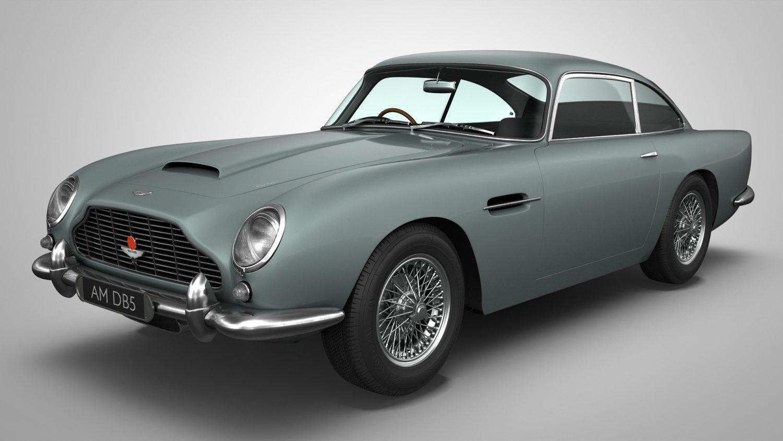Aston Martin Db5 Model 3d In Mobil Klasik 3dexport