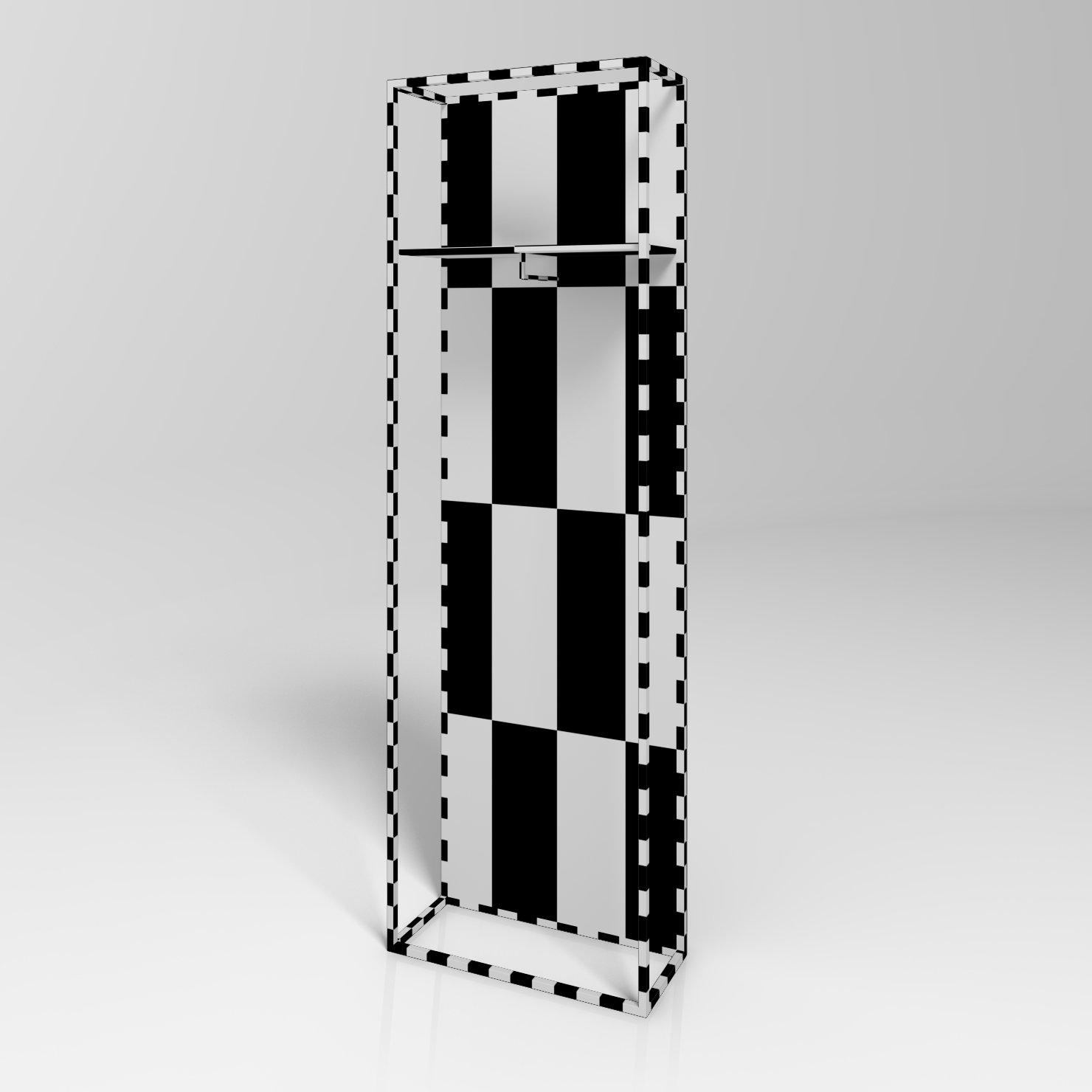 bettelux shape mirror 3d-modell in badezimmer - 3dexport, Badezimmer ideen