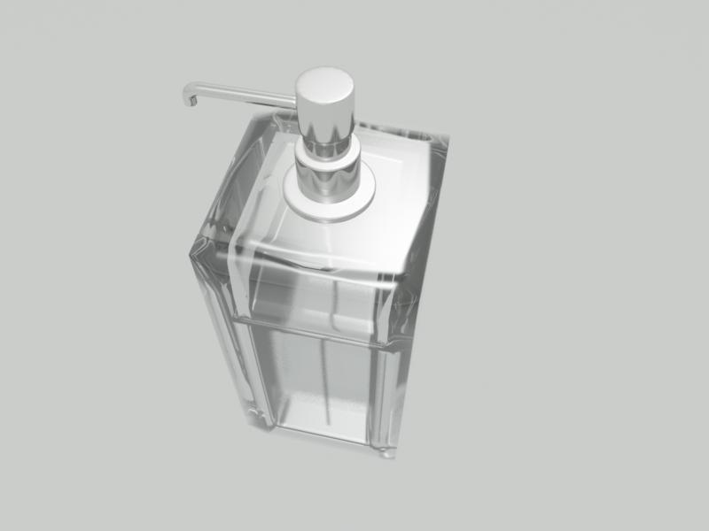 Soap dispenser 3D Model in Other 3DExport