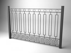 Iron fence 01