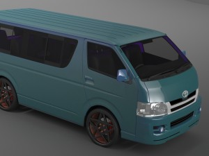 hiace 3D Models - Download 3D hiace Available formats: c4d, max, obj