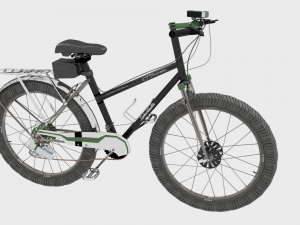 Mountain Bicycle 15 Speed 3D Modell