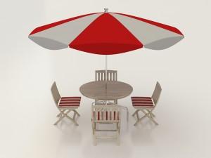 Umbrella Seating