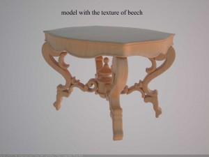 Antique table HVII century