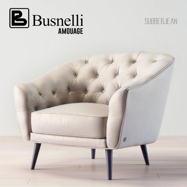 Busnelli Amouage Armchair 3D Model