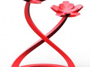 Flower figure