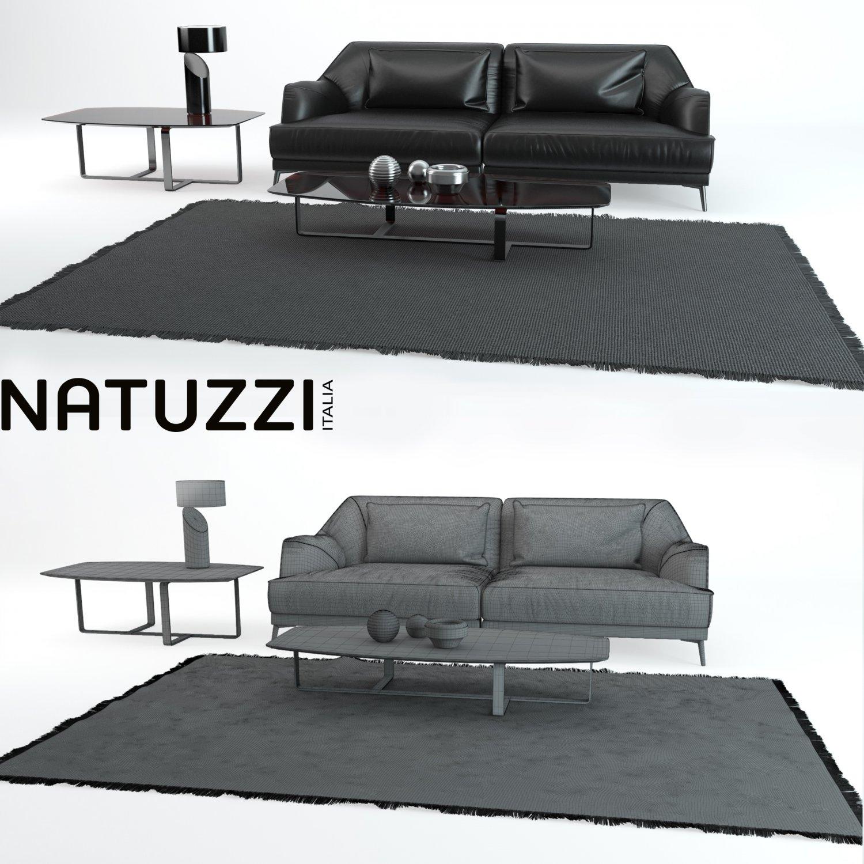 3ds max 2010 v ray 2 40 03 file formats fbx obj dog beds - Don Giovanni Sofa Natuzzi 3d Model