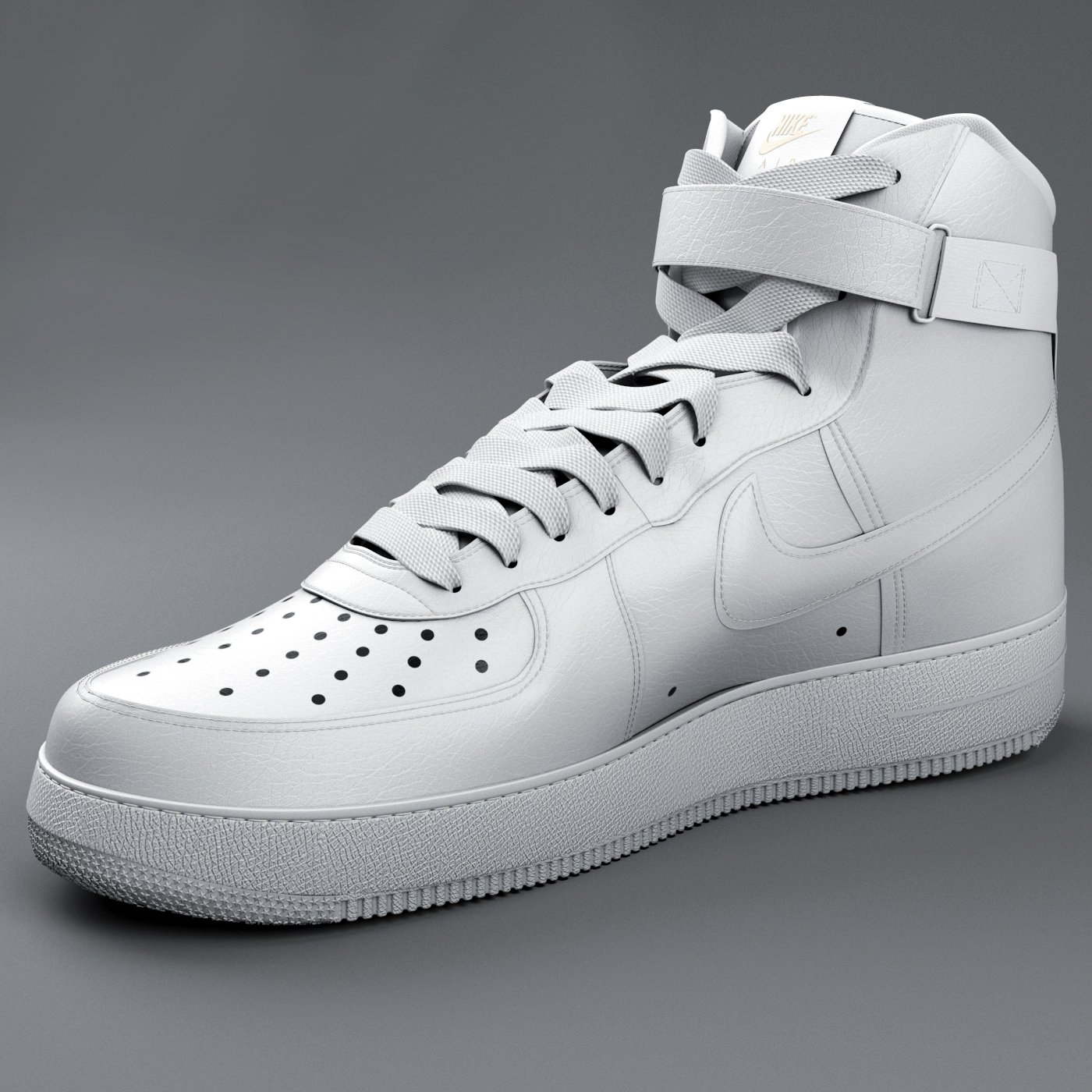 30123640 Nike Air Force 01 3D Model in Clothing 3DExport