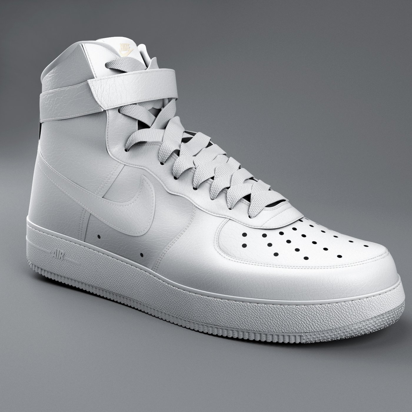 Nike Air Force 01 Modelo 3D in Ropa 3DExport