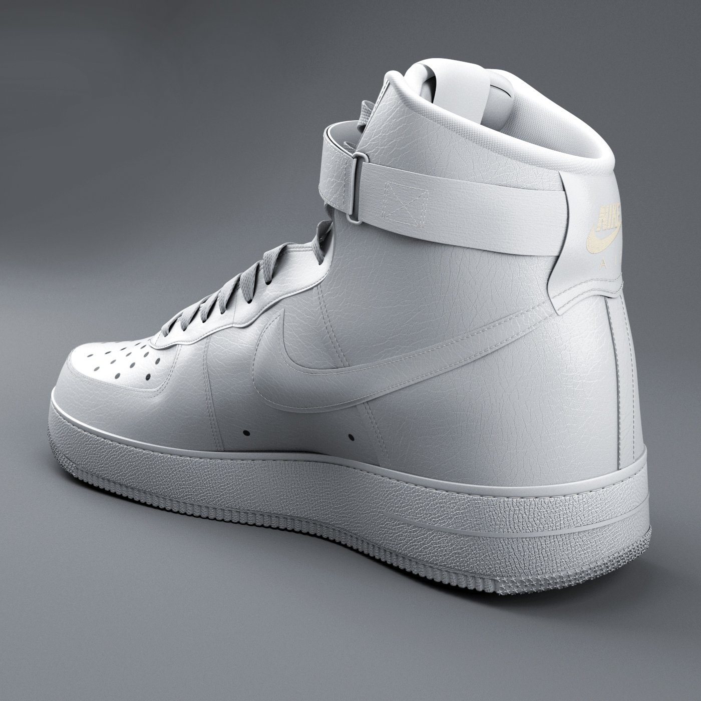 Nike Air Force 01 3D Model in Clothing 3DExport