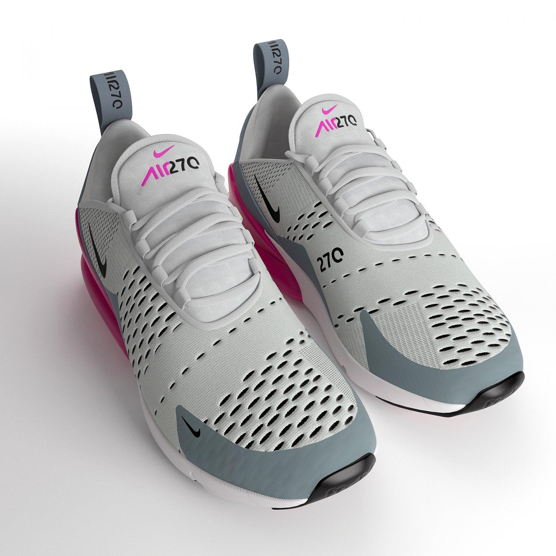 Air Max 270 Nike PBR 3D Model in Clothing 3DExport