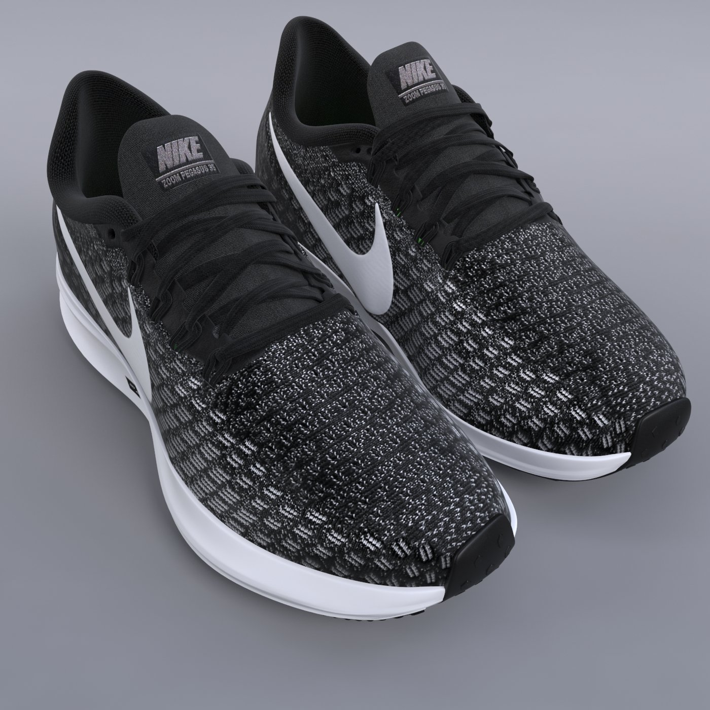 économiser 56034 5da1d Nike Air Zoom Pegasus 35 PBR 3D Model in Clothing 3DExport