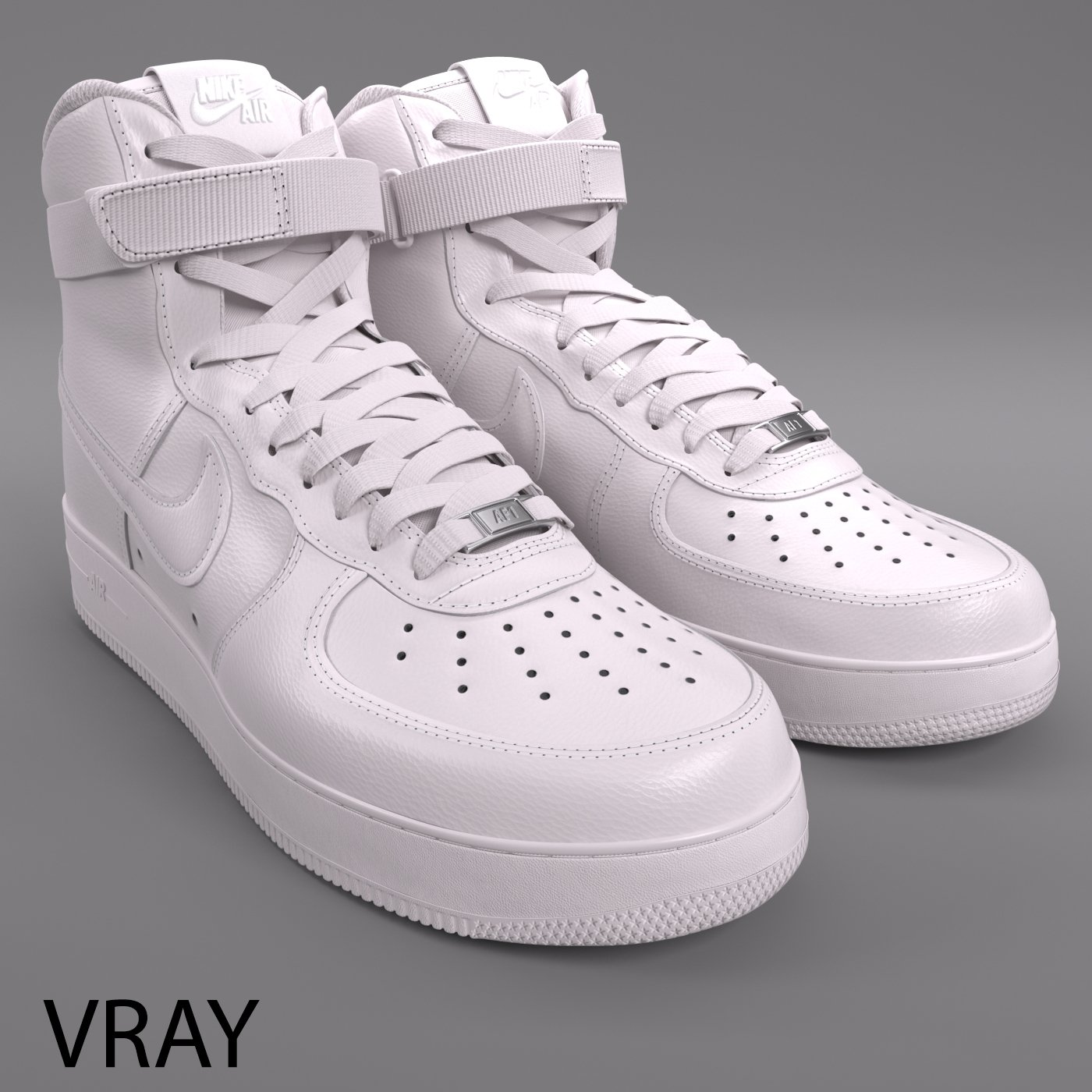separation shoes 3f790 42213 Air Force 1 Nike PBR 3D Model