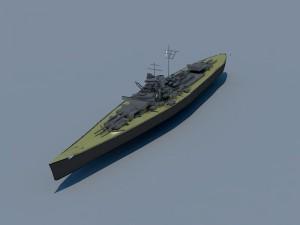 German battleship navy