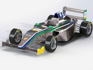 Formula 4 racing car