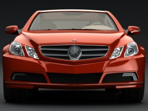 Mercedes-Benz E-Class Sports Coupe 2010 3D Model