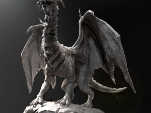 Dragon Sculpt Zbrush HD