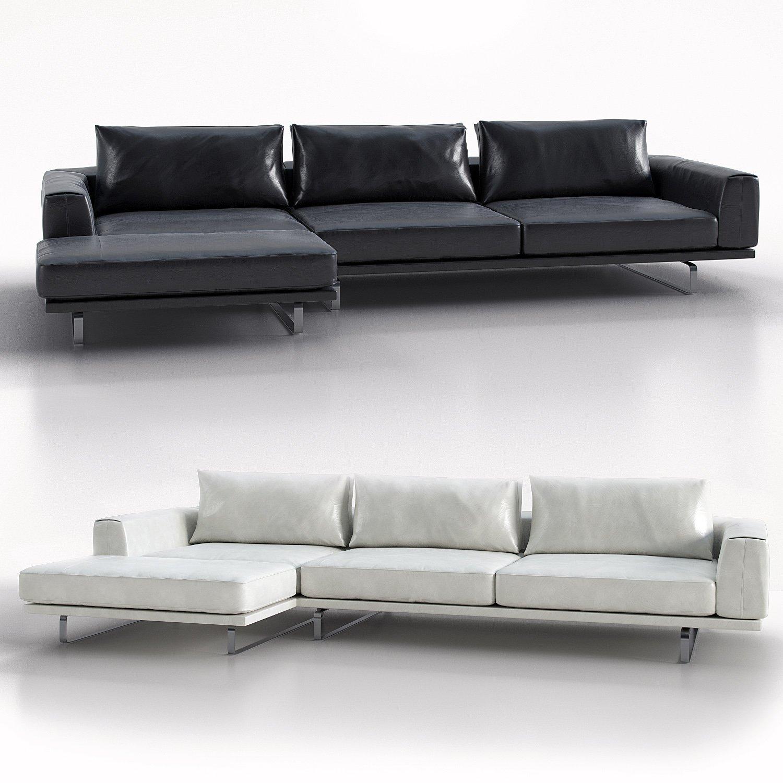 Tempo Natuzzi Italia 3D Model in Sofa 3DExport