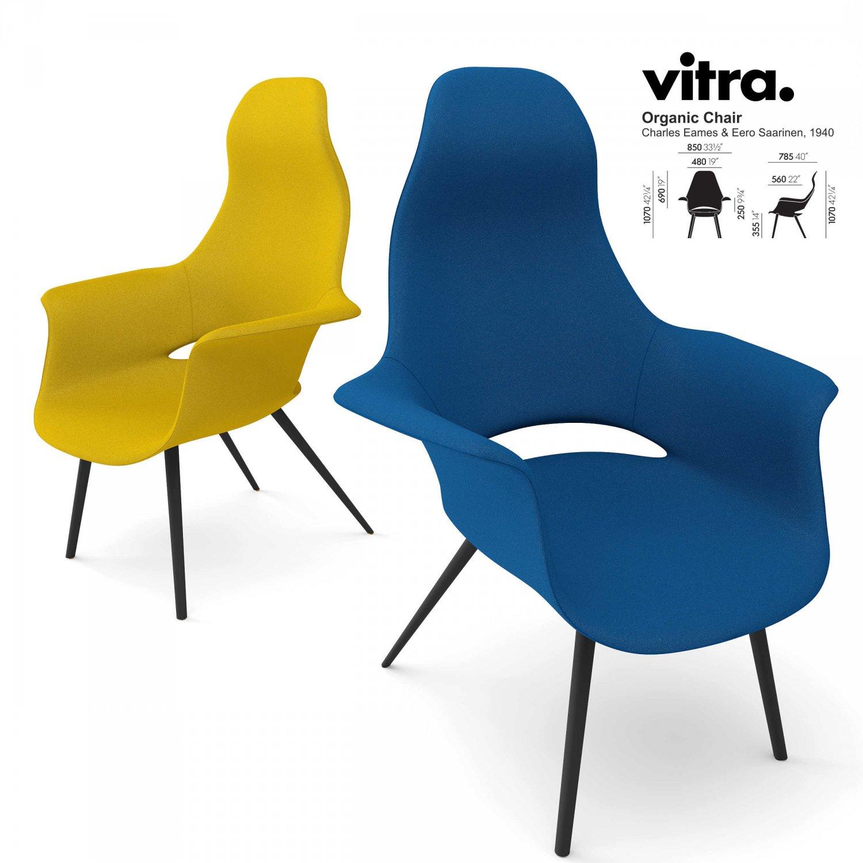 vitra organic chair 3d model in chair 3dexport