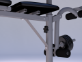 Sport Trainer for Hands Legs and Press