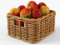 Wicker Apple Basket Ikea Byholma 1 Natural