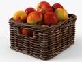 Wicker Apple Basket Ikea Byholma 1 Brown