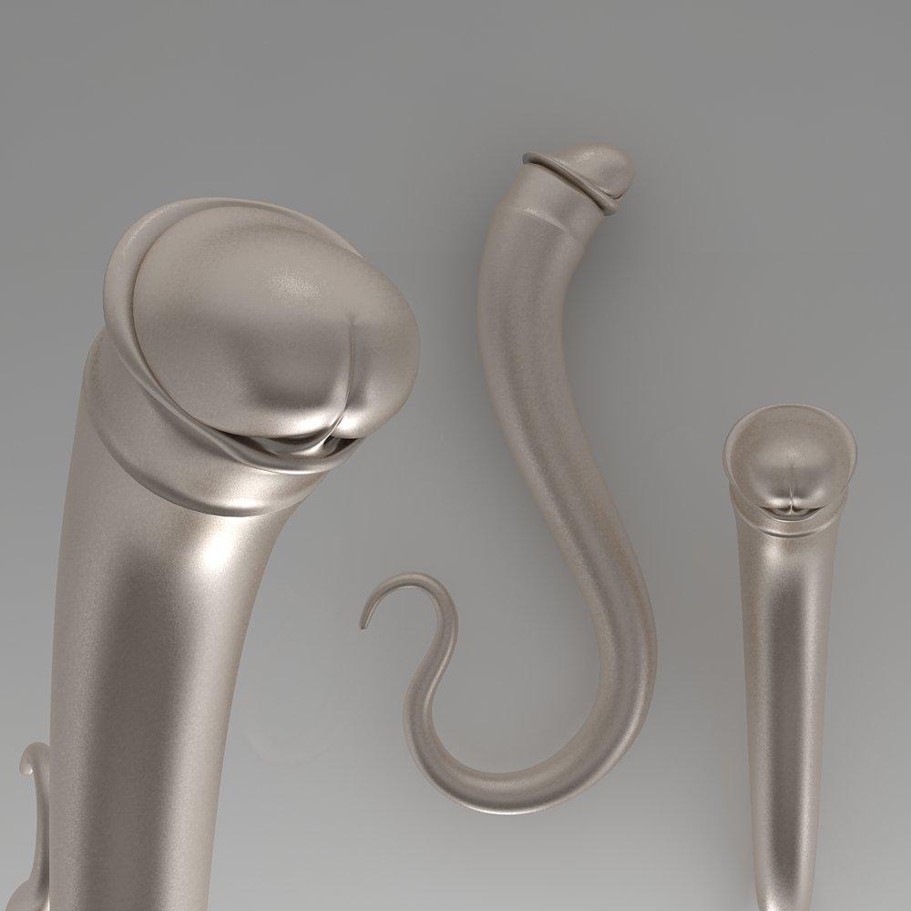 male genital penis 3d-modell in anatomie 3dexport, Badezimmer ideen