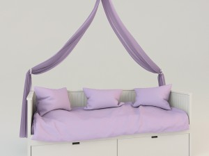 Childrens canopy bed