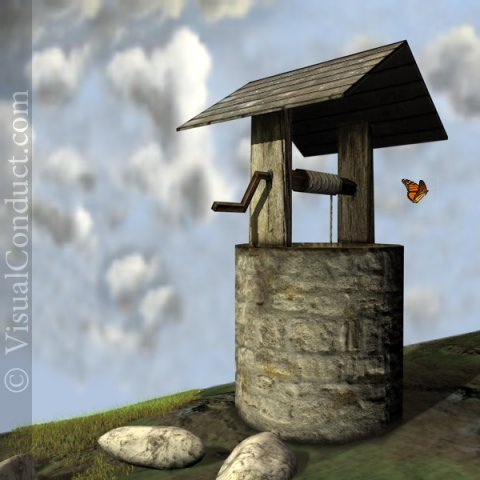 Old Well 3D Model