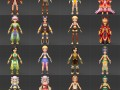 Quality Fantasy Character Collection