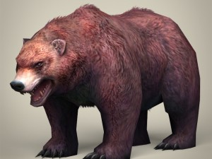 Game Ready Realistic Bear