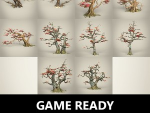 Game Ready Maple Tree Collection