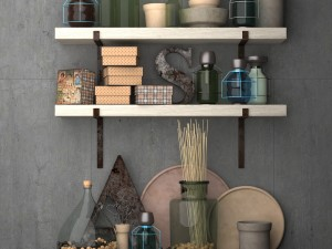 Decorative set for the kitchen-Kitchen accessories