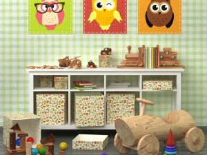 Decorative set for child