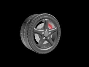 Wheel 3ds fbx