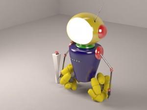 Robot rigged