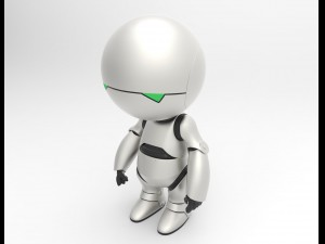 Marvin the robot