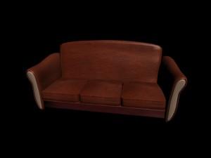 Leather sofa wks style