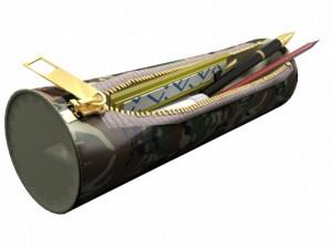 Pencil case military