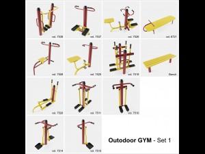 Outdoor GYM Set-1