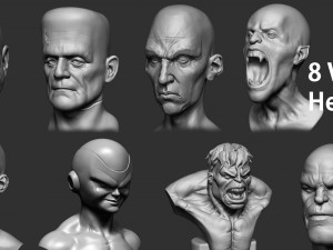 Various Heads