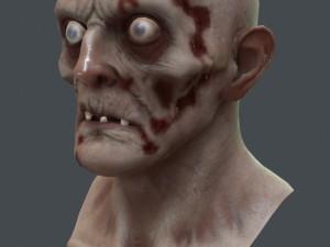Zombie Lowpoly