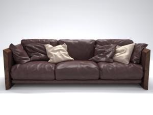 RIVA Soft Wood Sofa