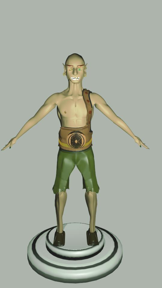 goblin free 3d model in monster 3dexport